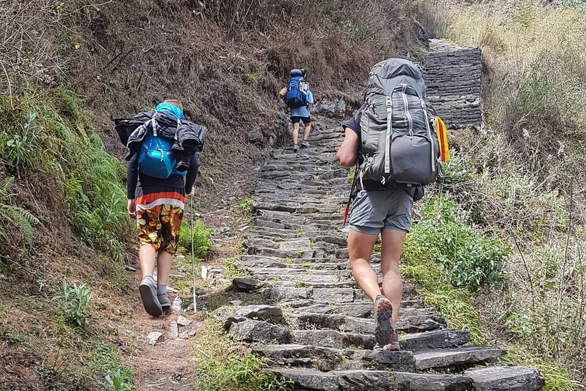 eco trekking